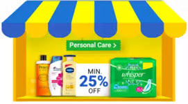 Personal Care Minimum 25% off - Flipkart