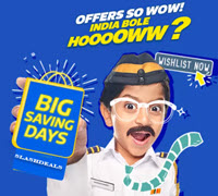 [ Last Day ] Flipkart Big Saving Days Sale 2021 [ 2nd to 7th May ] Upto 90% Off On Mobiles & Electronics + 10% HDFC Bank Discount