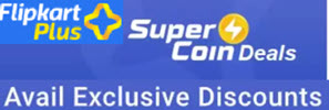 Flipkart Exclusive SuperCoin Offers