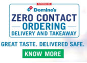 [ New Code ] Domino's Coupon, Offer, Promo Code: Get 50% Off On Domino's Pizza Up to ₹100 September 2021