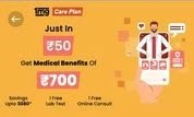 1mg 6 Month membership at ₹50 From Airtel thanks App