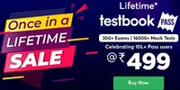 Lifetime Testbook Pass for 5 Years Worth Rs.12000 at Rs.425 | 14Montn at Rs.255