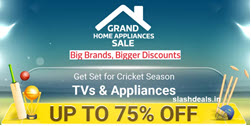 Flipkart Grand Home Appliances Sale: Up to 75% Off On TVs & Appliances Extra Prepaid offer, Coin Offer, Coupon Offer