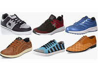 Top Brands Men's Footwear Up to 95% off Extra 10% Coupon Starting at Rs. 190 - Amazon