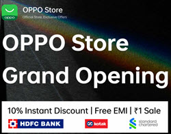 [ May 12th 8PM ] Oppo Flash Sale at Rs.1 | Grand Opening Sale