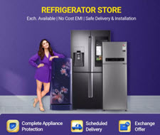Flipkart Refrigerator Multiple Offers up to 40% off Extra  Prepaid+ Quiz offer + Bank offer Up to Rs.4500 Off
