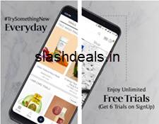 Smytten App: Get 6 Product Sample + Freebie at Rs. 199