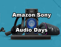 Amazon Sony Audio Days - 18th - 21st June | No Cost EMI Offer