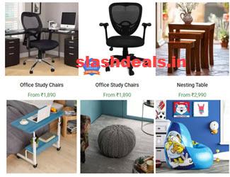 Flipkart Work From Home Furniture Sale