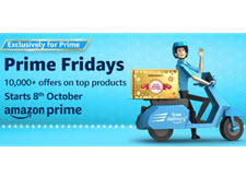 Amazon Prime Fridays Sale : Upto 80% Off On Big Brands With HDFC bank Offers and Cashback